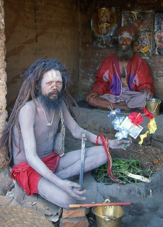Holy Men Of Nepal
